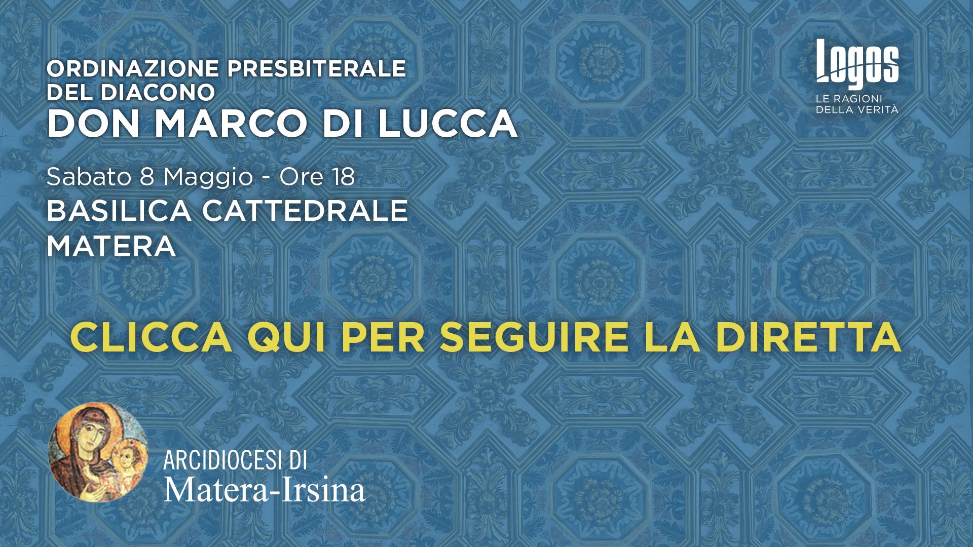 Ordinazione don Marco di Lucca